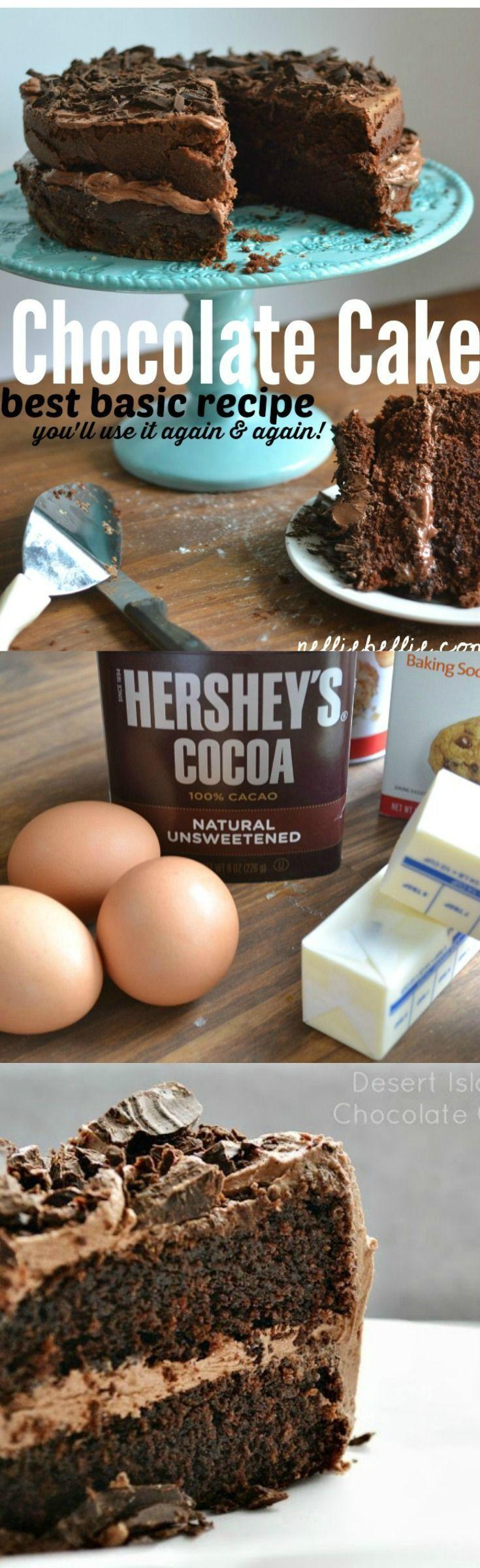 Homemade Chocolate Cake Recipe Homemade chocolate frosting