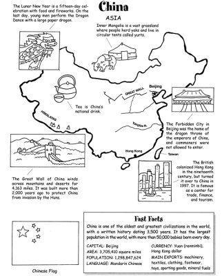 map of china geography worksheet english kids information design infographic y lesson plans. Black Bedroom Furniture Sets. Home Design Ideas