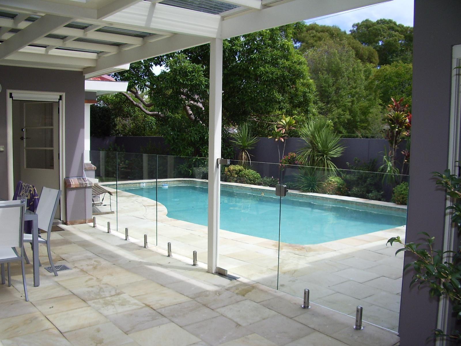 Plexi Glass Pool Barrier Pool Fence Glass Pool Fencing Backyard Fences