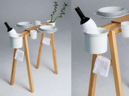 Folding Table Would Be Great To Have To Hold Items In A Small Space Or