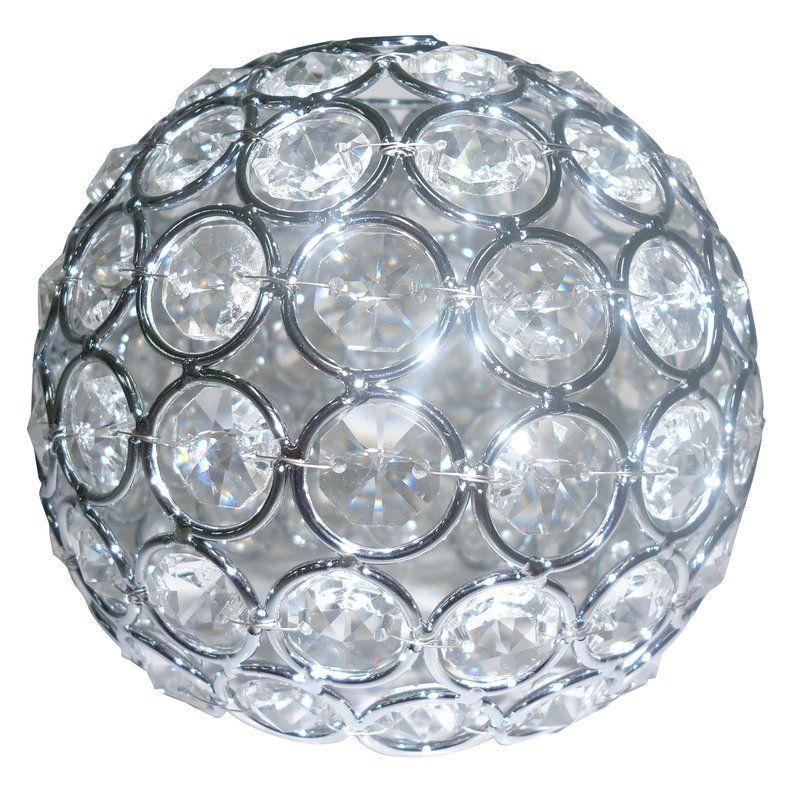 Shop portfolio ladura 475 in crystal vanity light shade at lowes shop portfolio ladura 475 in crystal vanity light shade at lowes canada find our aloadofball Image collections