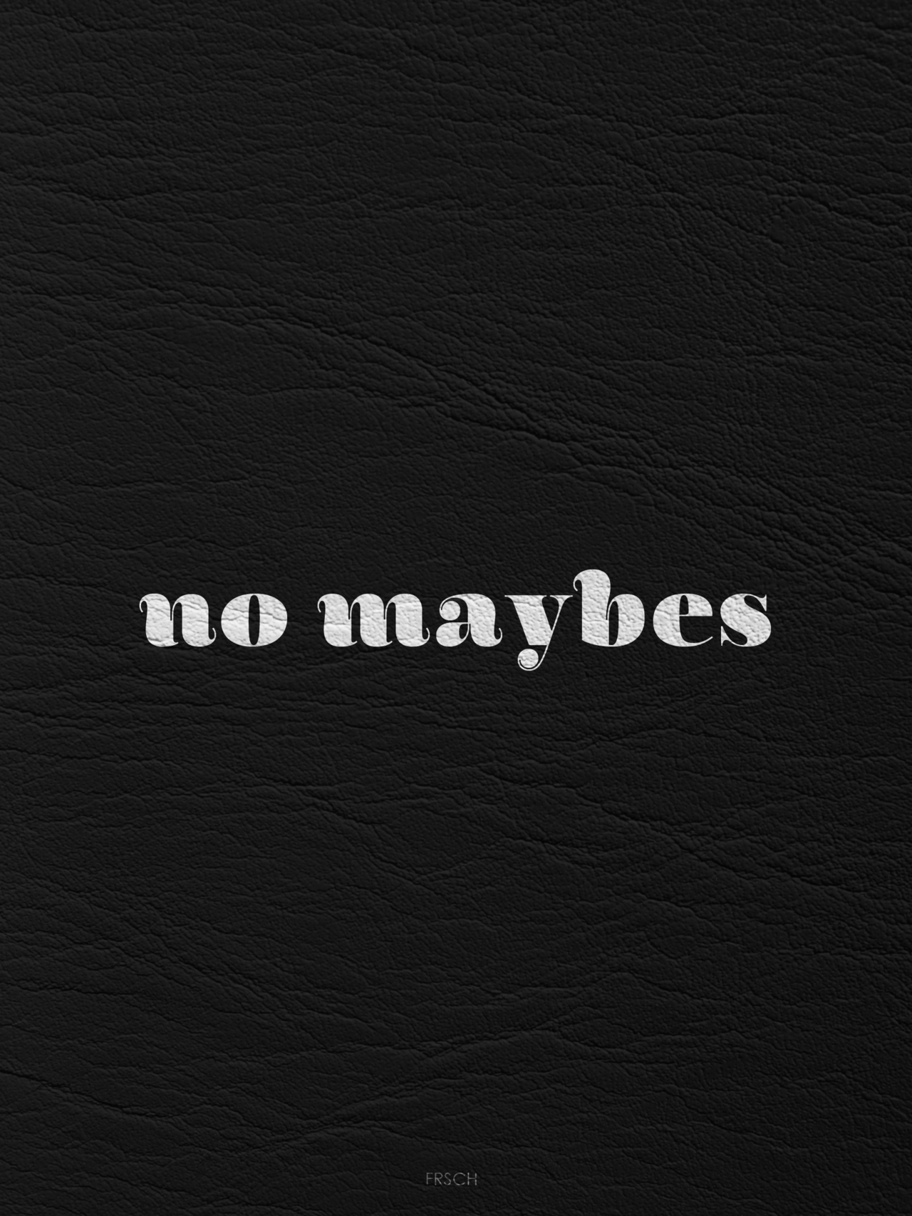 Every one now a days answers with the word maybe. It isnt an answer. Its a YES or a No.