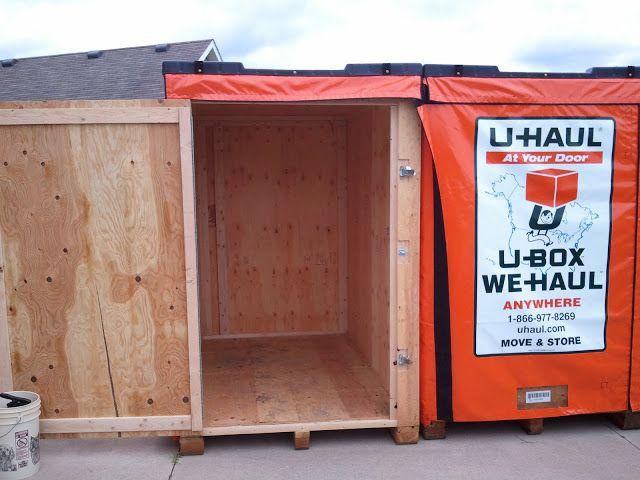 U haul storage box