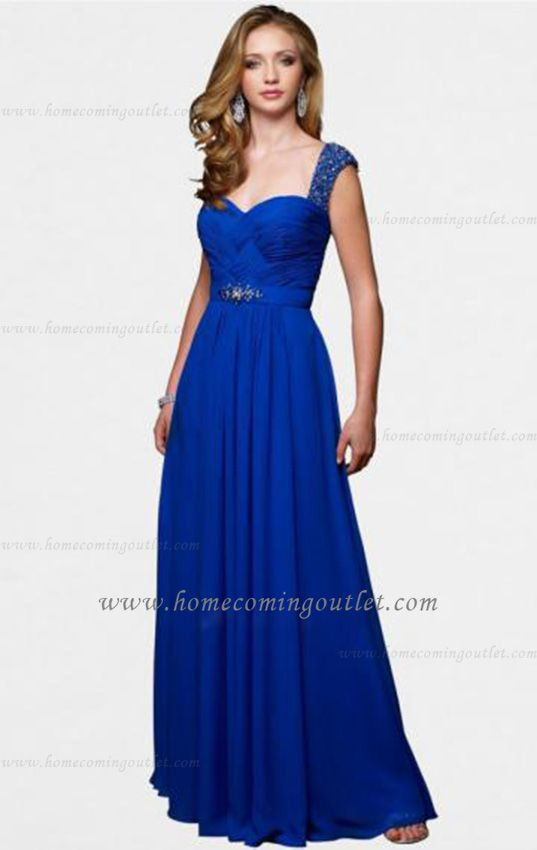 Cobalt Blue Bridesmaid