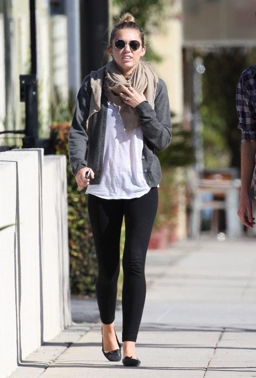 Miley cyrus 2012 winter style