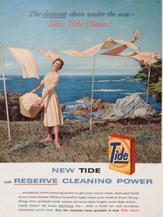 vintage 1958 tide laundry