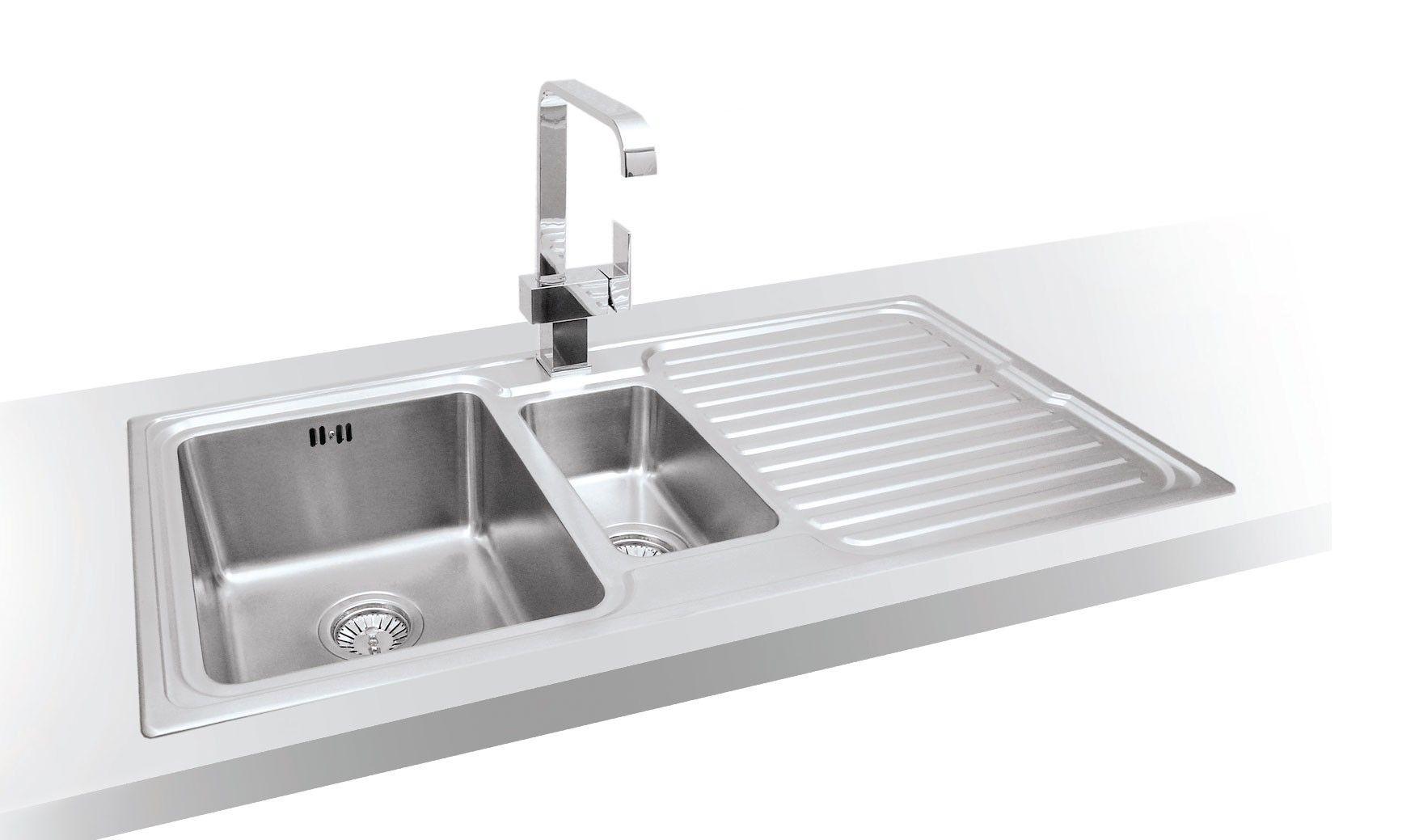 Tiber 1 5 Bowl Single Drainer Designer Inset Sink Inset Sink Sink Sink Drainer