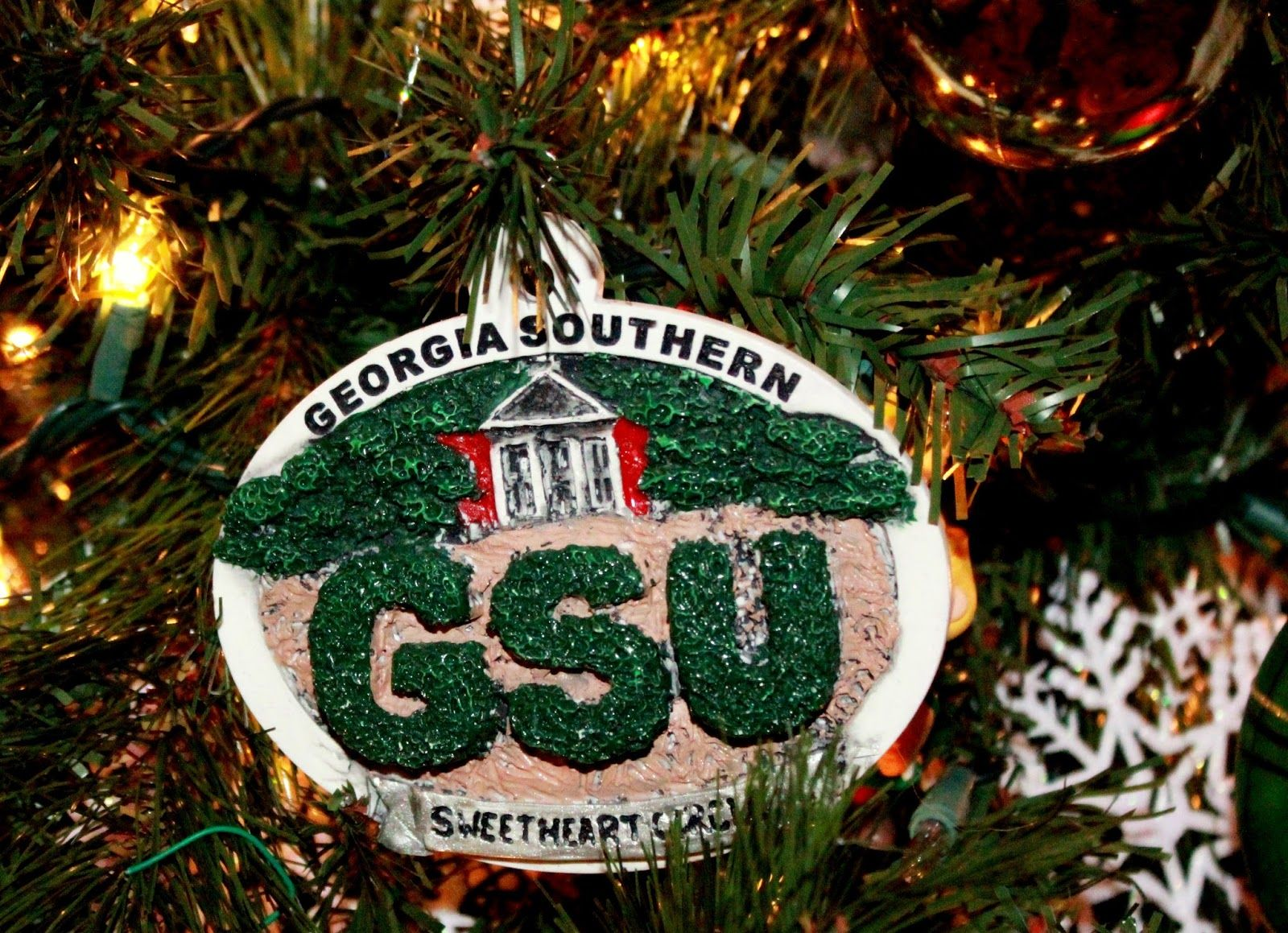 University Christmas Ornaments