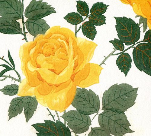 Yellow Floral Pattern From Kate Spade Kate Spade Desktop
