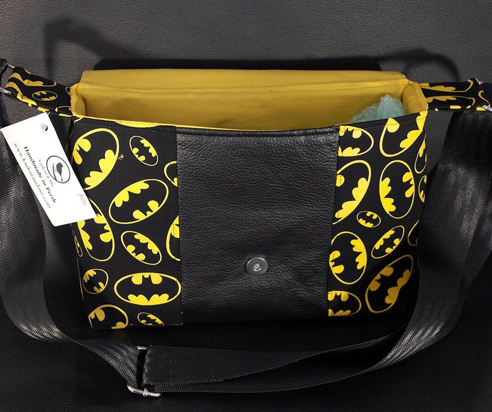 Handmade Batman Bag $99.99 - made in Australia!