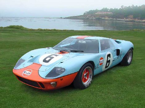 The Original Ford Gt 40 Inches High At The Roof Auto Da Corsa