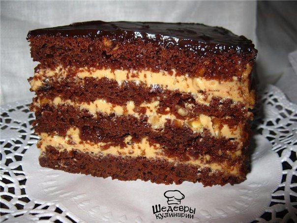 Простой торт без яиц