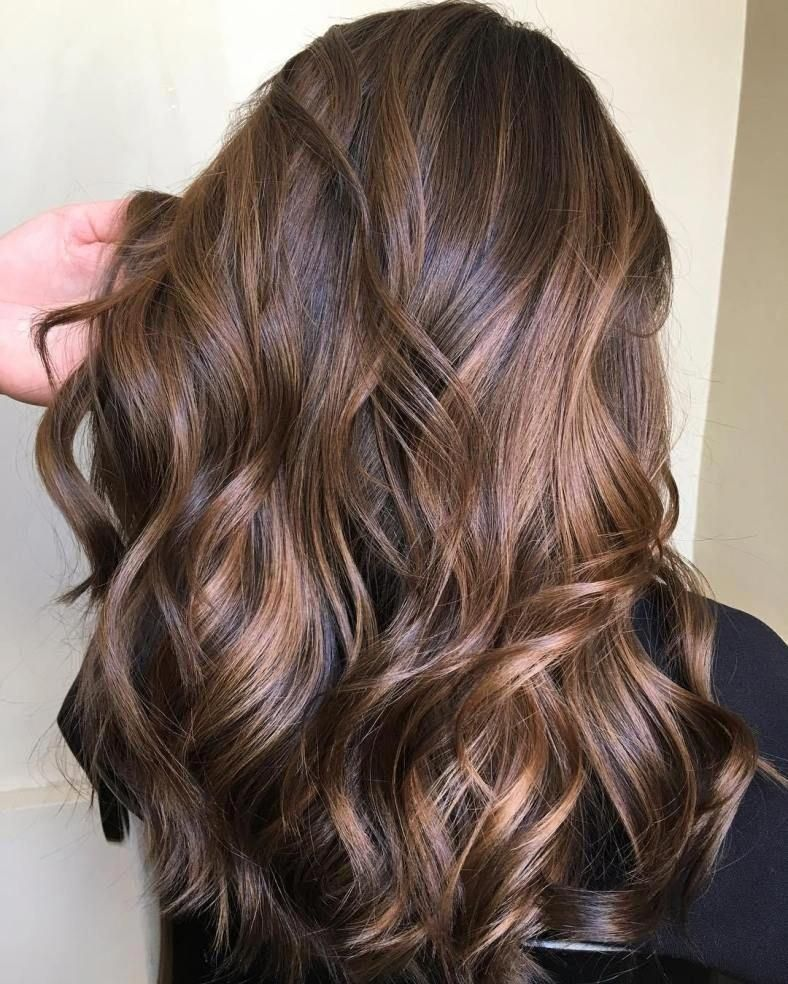 50 Dark Brown Hair with Highlights Ideas for 2019 - Hair Adviser #brownhairbalayage #brownhaircolors