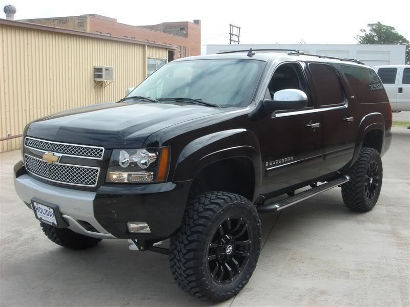 Lifted Suburban For Sale >> Black Lifted Dream Suburban Lifted Suburbans Chevrolet Suburban