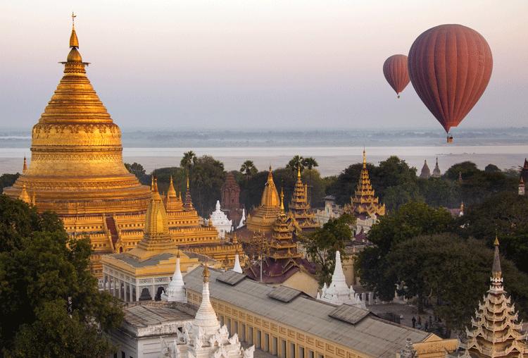 باغان ميانمار بورما جنوب شرق آسيا 2 Landmarks Travel Burj Khalifa