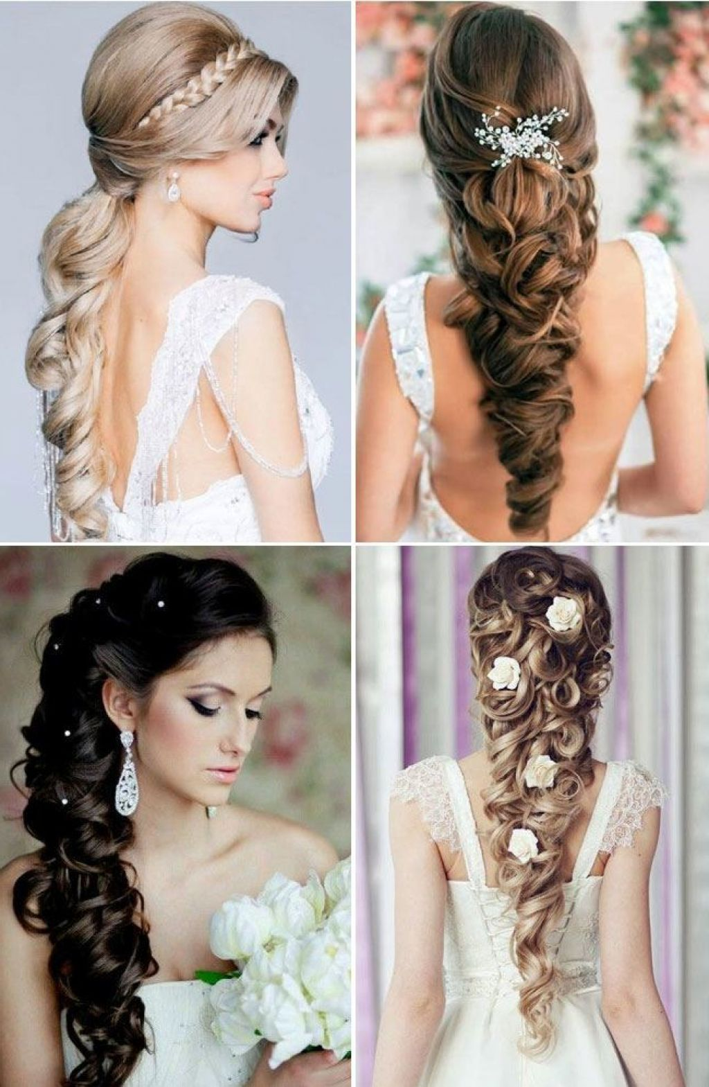 bridal hairstyles for long hair western amp indian bridal | hair