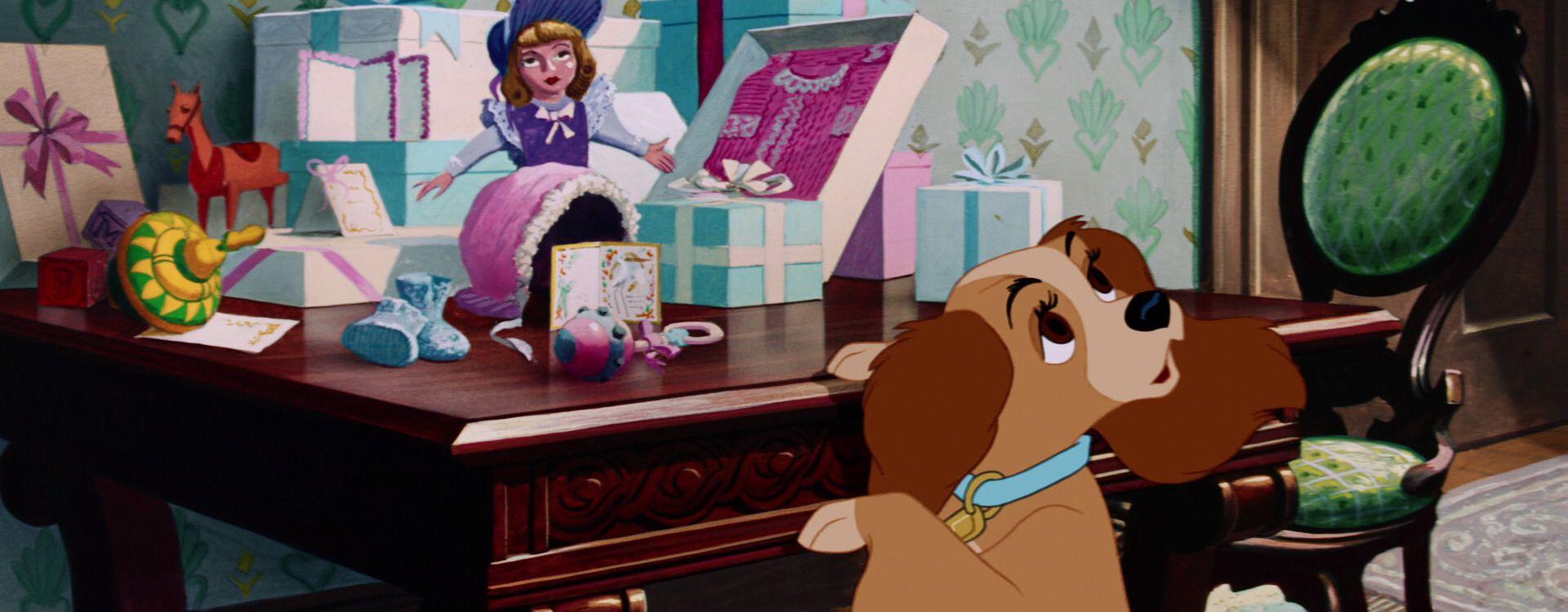 Lady And The Tramp 1955 Disney Screencaps Com Disney Concept Art Lady And The Tramp Disney Facts