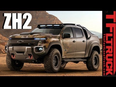 Chevy Colorado Zh2 Is This Hybrid Hydrogen Powered 4x4 Truck The