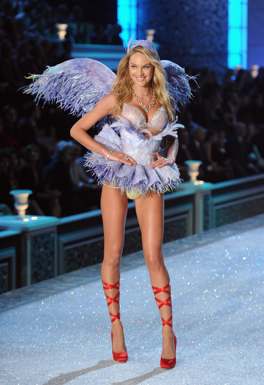 aa4dd13475 Candice Swanepoel in 2011 Victoria s Secret Fashion Show - Runway ...