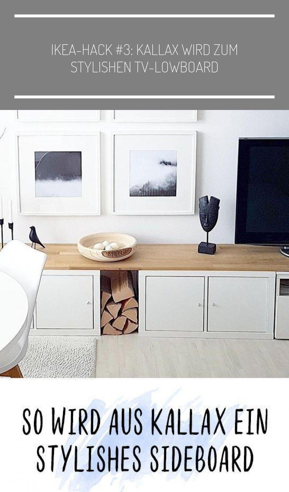 Photo of So wird aus Ihrem Ikea Kallax-Regal ein Stylish Sideboard! #ich k