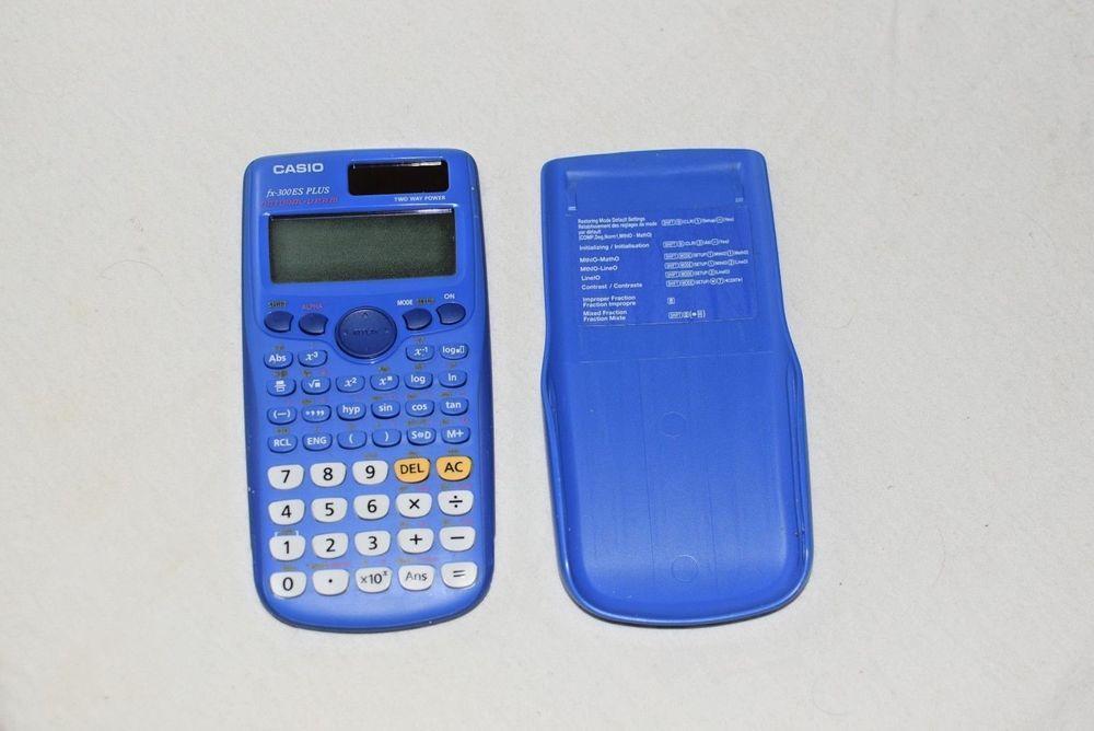 NEW Casio FX-300ESPlus Scientific Calculator Blue