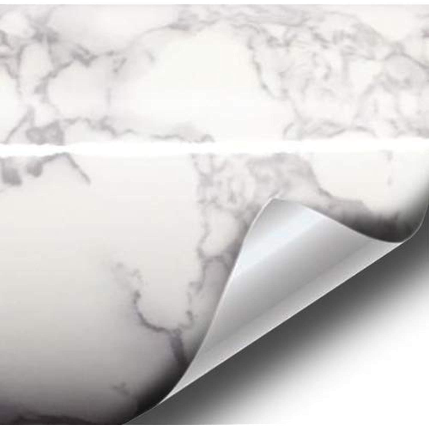 Vvivid White Grey Veined Marble Self Adhesive Vinyl 48 X 50ft Full Kitchen Wrap Bulk Roll Including Free Too Contact Paper Countertop Grey Marble Marble Vinyl