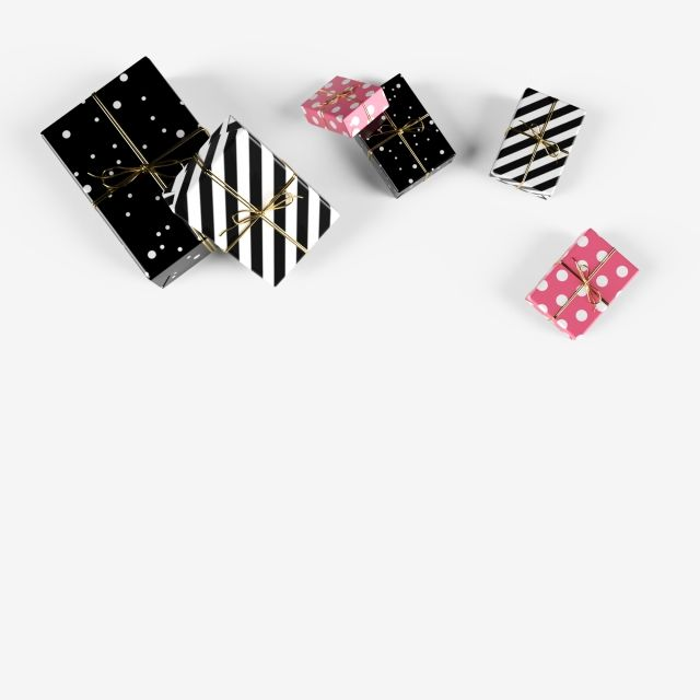 Set Of Black And White Holiday Gift Boxes Top View Gift Box Event Love Png Transparent Clipart Image And Psd File For Free Download Holiday Gift Box Black And White Background