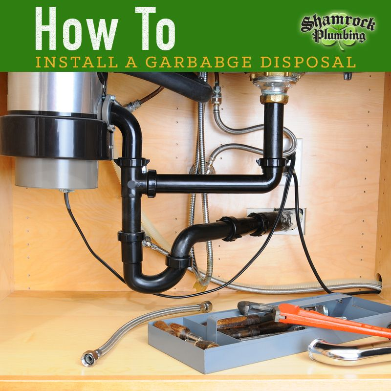 How to Install a Garbage Disposal Garbage disposal