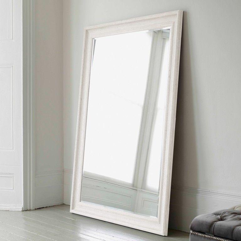 Vermont Oversized Mirror - Antique White | Giant mirror ...