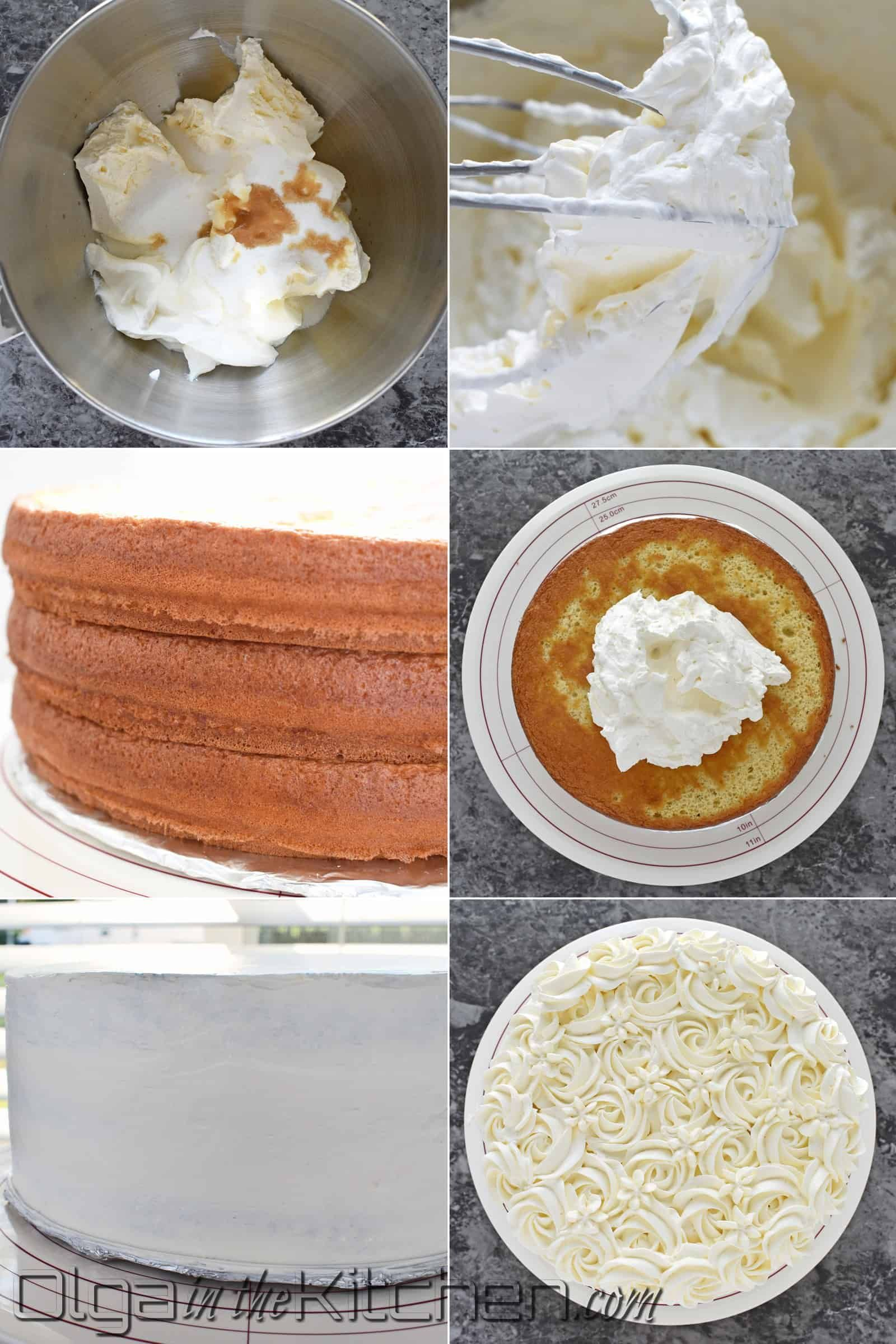 Honey Cake With Sour Cream Frosting Olga In The Kitchen Recipe Sour Cream Cake Sour Cream Frosting Honey Cake