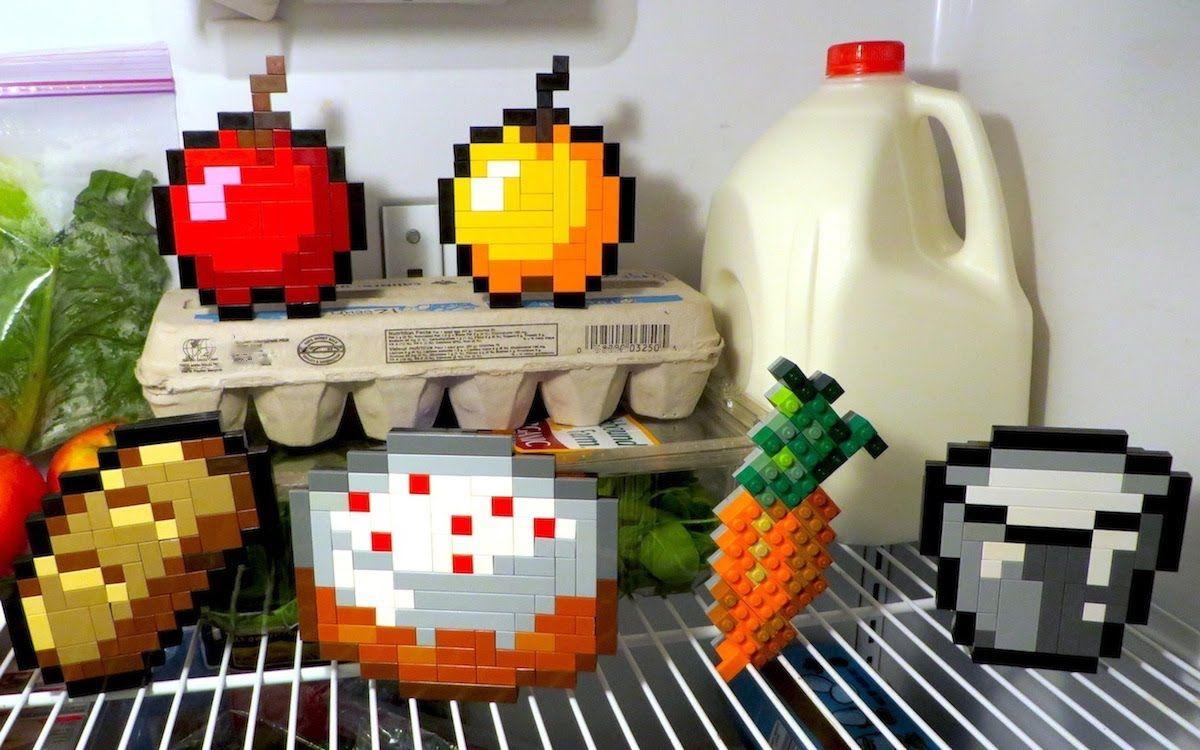 LEGO Minecraft Food YouTube Minecraft food, Lego