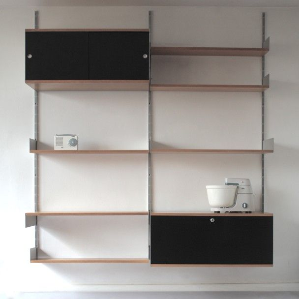 The Ideal Shelving / 606 Universal Shelving System By