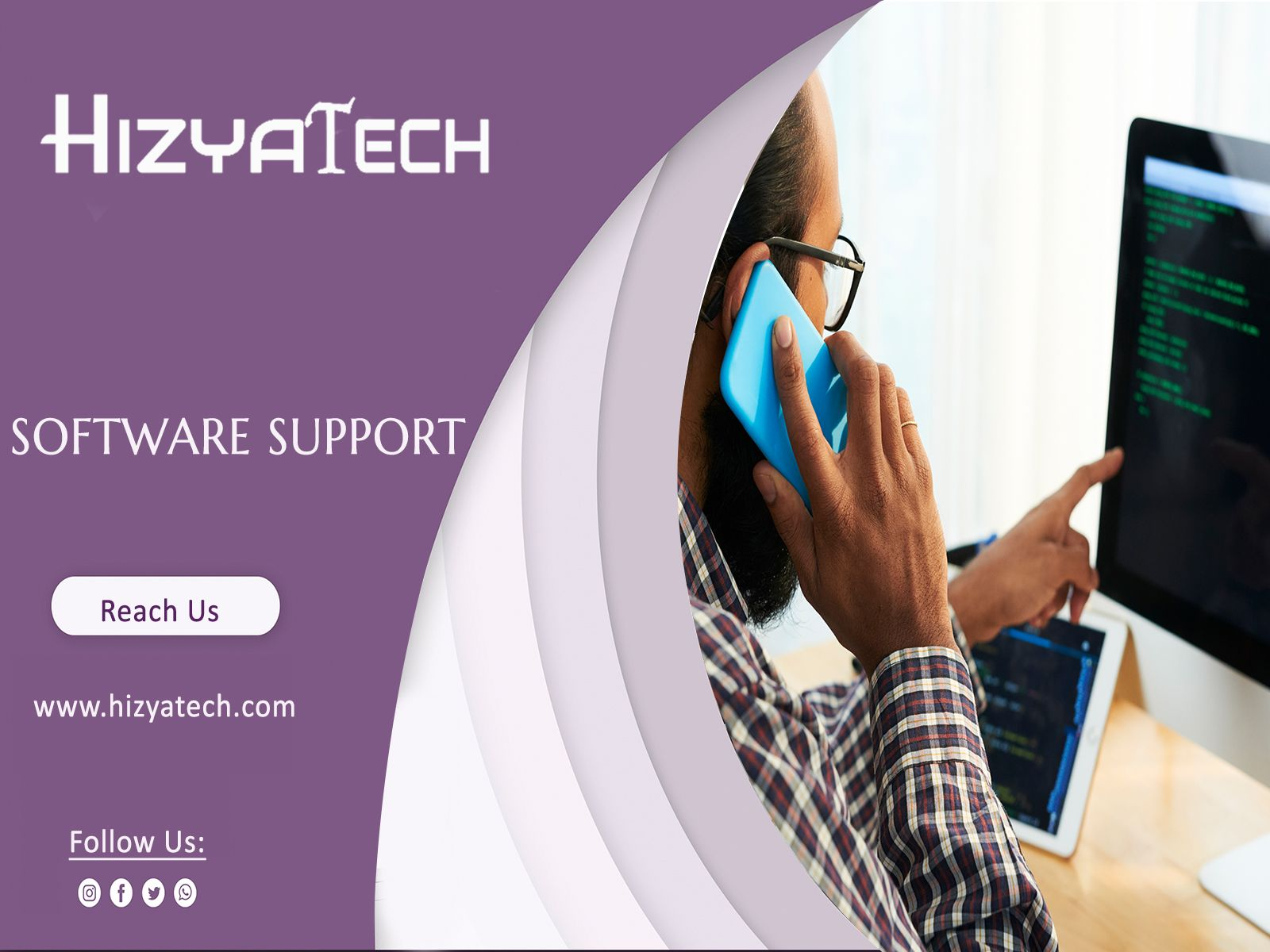 Hizyatech Provides Software Solutions And Technical Services That Will Help Businesses On Innovative Systems And Applications To Help Focus On T In 2020 Software Support