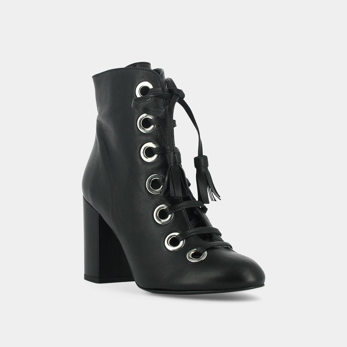 Jonak Boots à lacets et détails en métal | Listy La