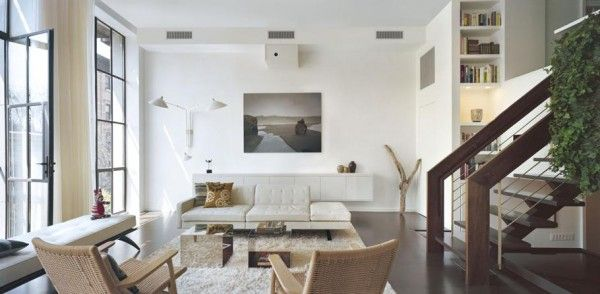 Fascinating dynamic interior home designs cozy living room white soaf rattan chairs dynamic duplex