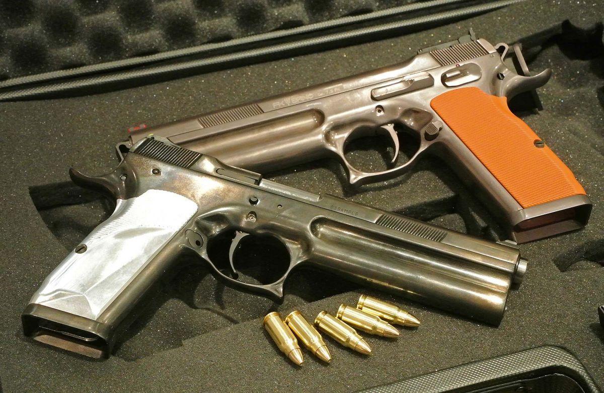 Penetration by gun barrel