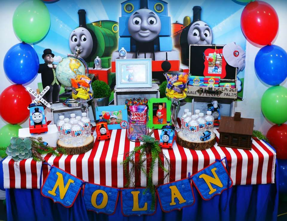 Thomas and friends Birthday Nolans 2nd birthday Friend
