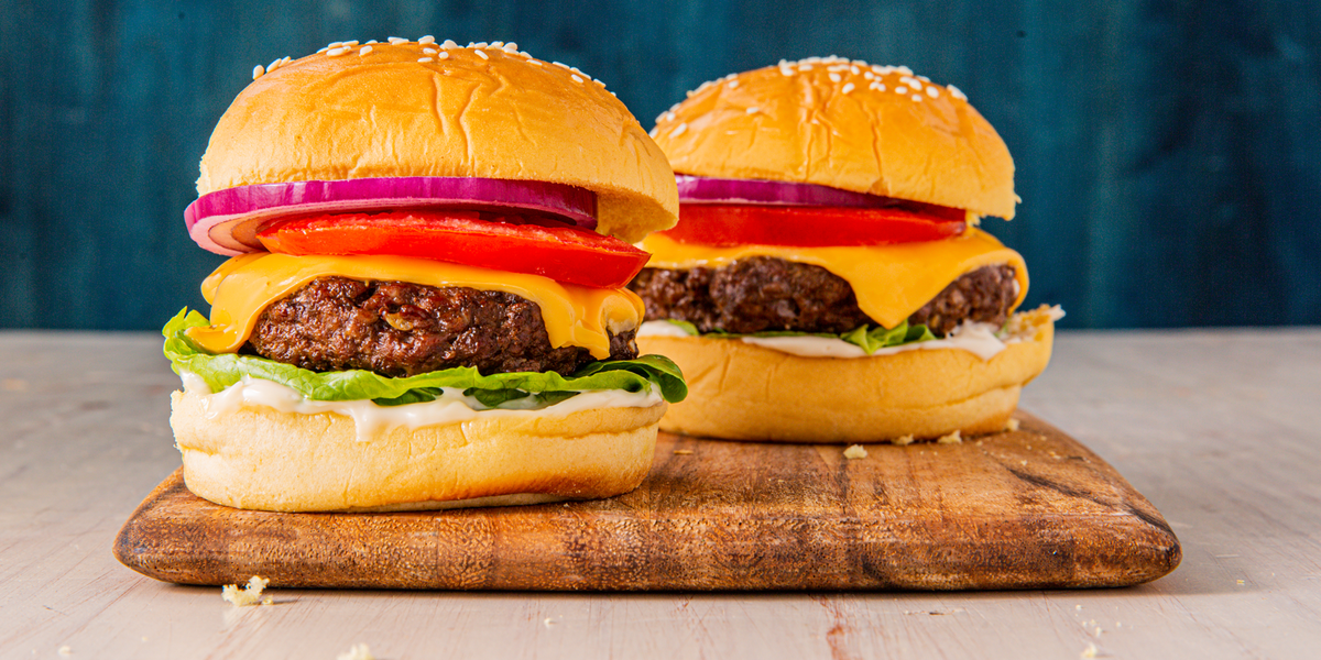 Air Fryer Cheeseburgers Recipe Easy chicken, rice