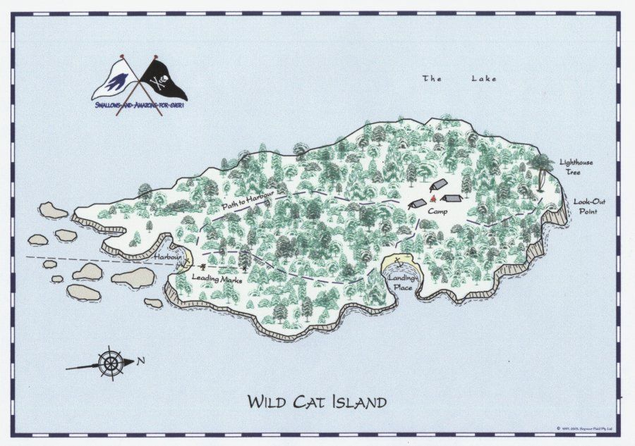 Wild Cat Island - Arthur Ransome, Swallows and Amazons