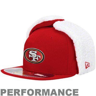 New Era San Francisco On-Field Dog Ear Fitted Performance Hat - Scarlet b3137d955554