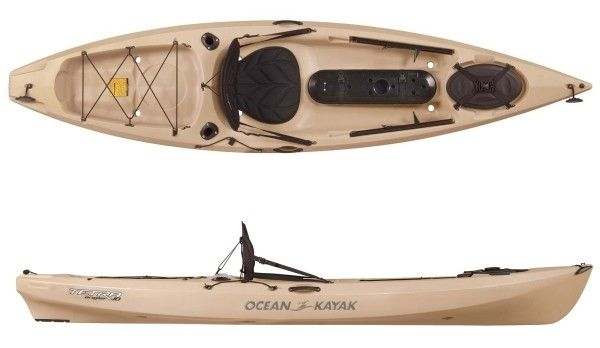 Ocean Kayak Tetra Angler Fishing Kayak Review Fishing Kayak Reviews Ocean Kayak Kayak Fishing