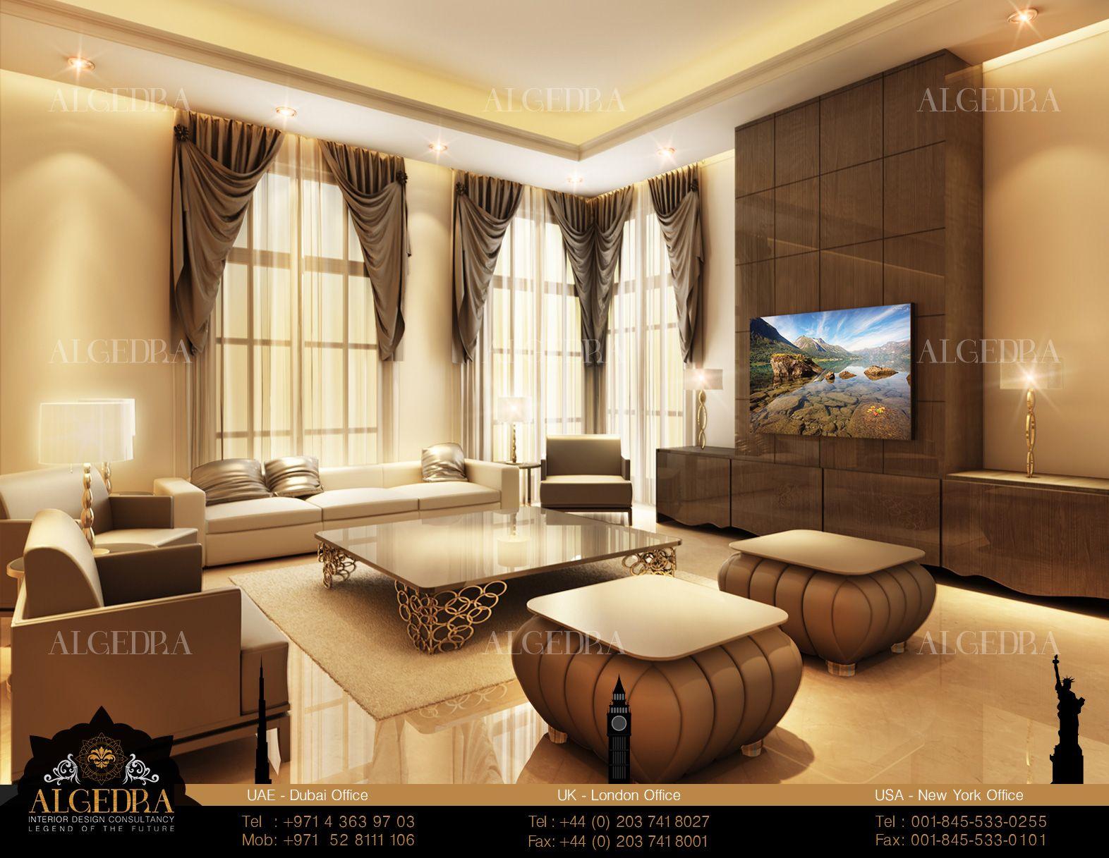 Living Room Designed By Eng Tareq Skaik Head Of Design Department ALGEDRA Interior