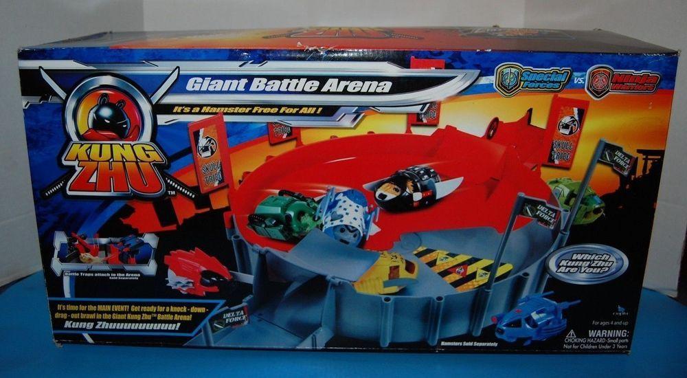 Kung Zhu Giant Battle Arena Zhu Zhu Pets Ultimate Ninja