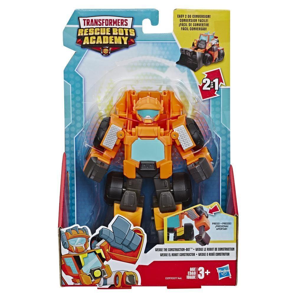 Playskool Heroes Transformers Rescue Bots Wedge The Construction Bot Transformers Rescue Bots Rescue Bots Transformers