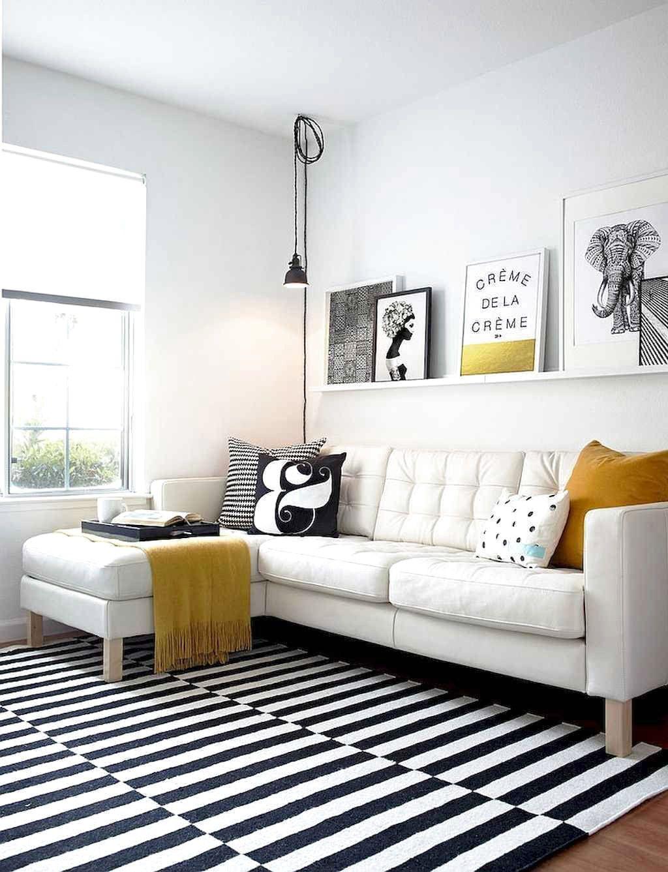 Favorite Scandinavian Living Room Decor Ideas And Makeover Frugal Living Scandinavian Decor Living Room Yellow Living Room White Living Room Decor