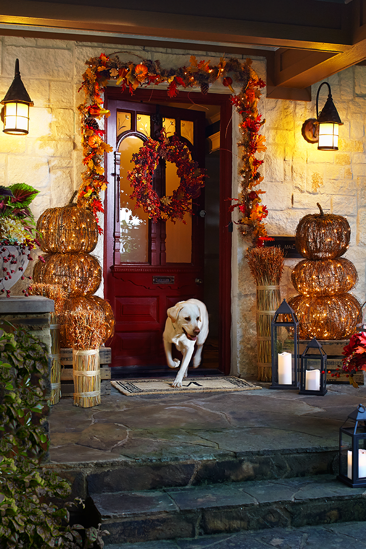 Mix The Traditional Colors And Symbols Of Fall With A Few