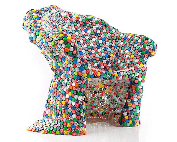 кресло из бутылок пластиковых фото запотевшие