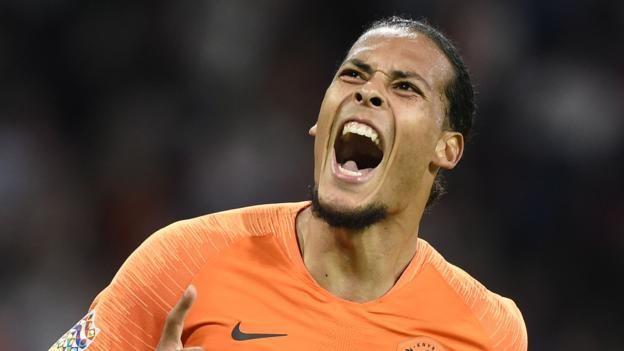 Netherlands 3-0 Germany: Liverpool's Virgil Van Dijk