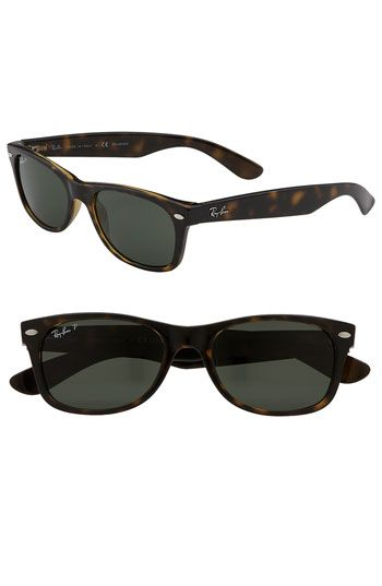 02ebcc5f01 Ray-Ban  New Small Wayfarer  52mm Polarized Sunglasses