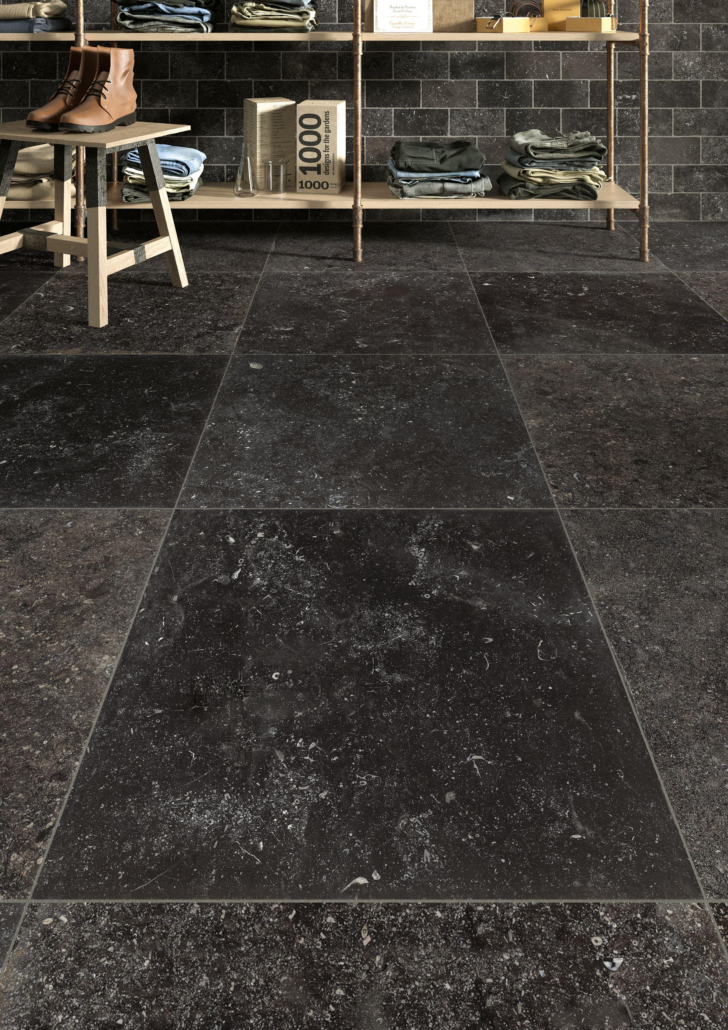 Blauwsteen Tegels 60x60.Exclusieve Keramisch Zacht Blinkende Blauwsteen Collectie